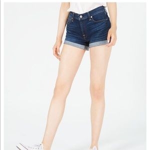 🔥7 For all mankind high waist shorts so cute!!🔥